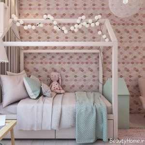 دکوراسیون رنگی و زیبا اتاق کودک