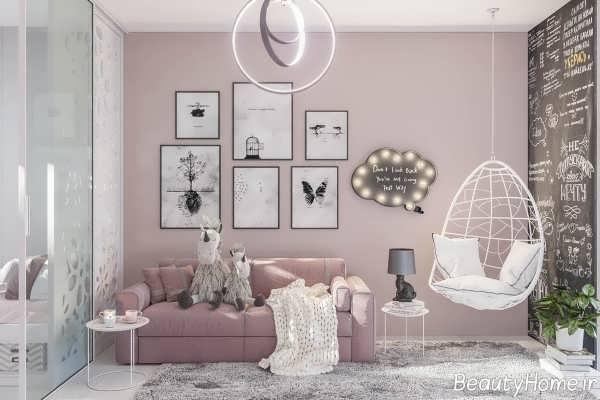 دکوراسیون زیبا و جذاب اتاق کودک