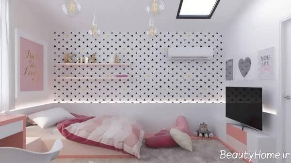 دکوراسیون زیبا و شیک اتاق کودک