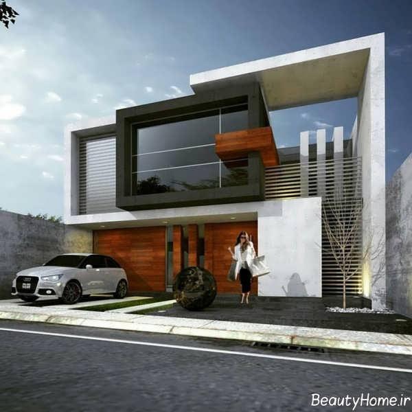 نما ساختمان مسکونی جدید