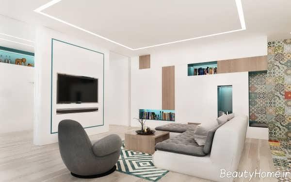 دکوراسیون زیبا و کاربردی خانه کوچک