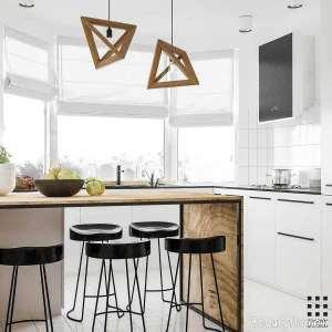 طراحی دکوراسیون زیبا و کاربردی خانه کوچک