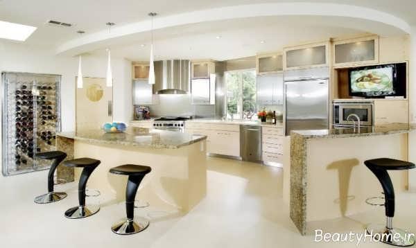 مدل کابینت زیبا و مدرن آشپزخانه