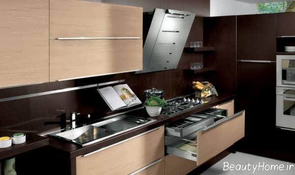 مدل کابینت زیبا و جذاب برای آشپزخانه