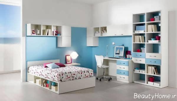 مدل تخت خواب سفید