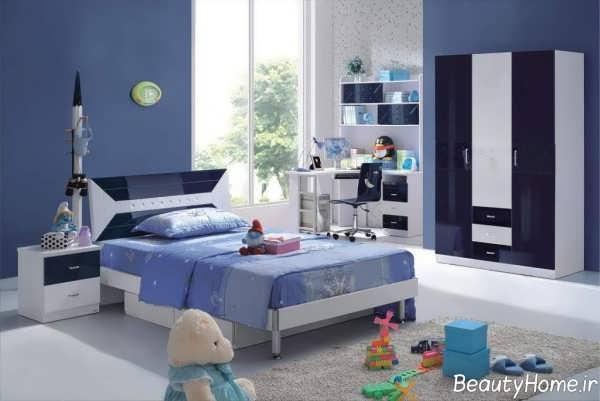 مدل تخت خواب زیبا و شیک نوجوان