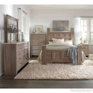 مدل سرویس خواب جذاب و شیک چوبی