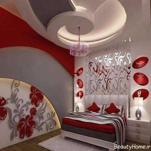 طرح کناف سقف جدید برای اتاق خواب