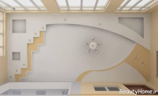 مدل سقف کاذب