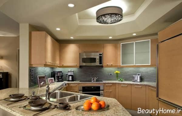 طرح سقف کناف برای آشپزخانه