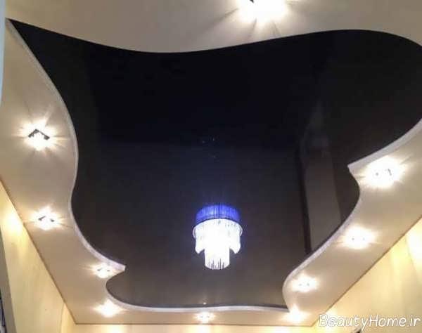 نورپردازی زیبا و کاربردی سقف کناف
