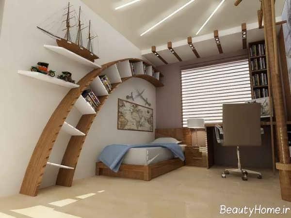 طرح کناف شیک و جدید برای سقف