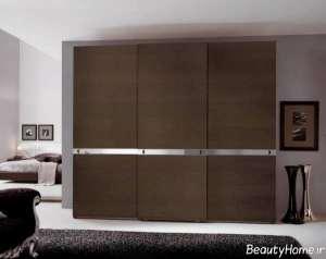 مدل کمد دیواری زیبا و جذاب برای اتاق خواب
