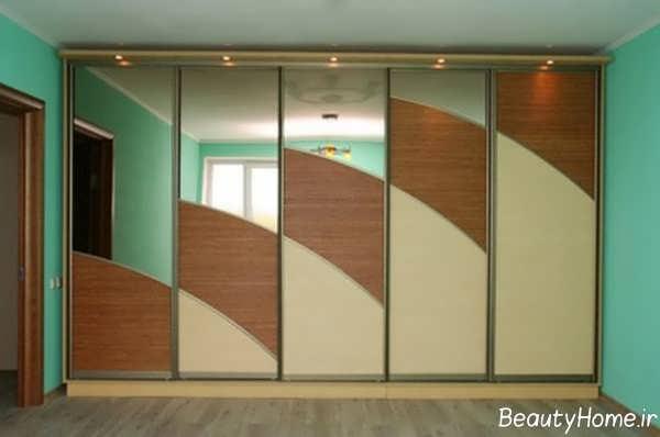مدل کمد دیواری جدید اتاق خواب