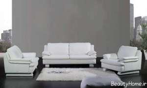 مدل مبل شیک و مدرن سفید