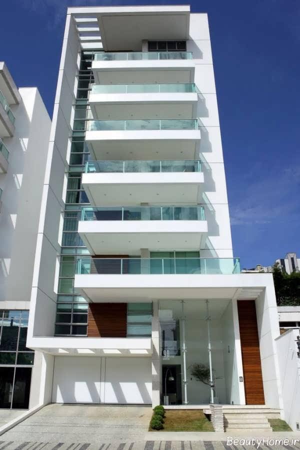 نمای خارجی و لوکس ساختمان