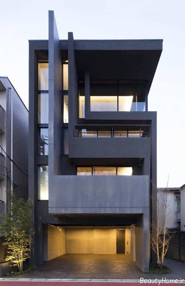 نما خارجی ساختمان مدرن
