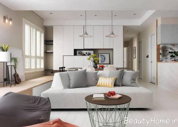 طراحی داخلی خانه آپارتمانی