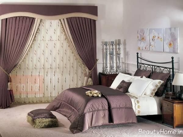 مدل پرده زیبا و شیک اتاق خواب