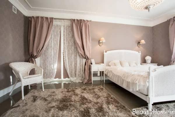 مدل پرده اتاق خواب ساده
