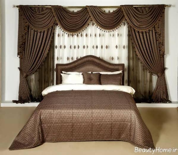 مدل پرده سلطنتی برای اتاق خواب