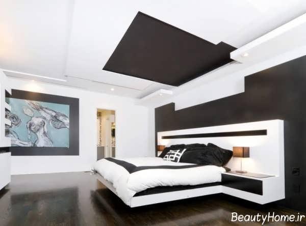 استفاده از دیوار سیاه در اتاق خواب