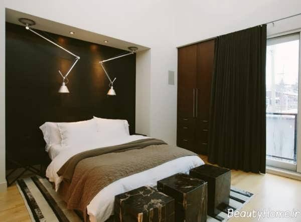 طراحی داخلی اتاق خواب مدرن و شیک