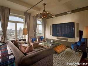 مدل فرش شیک و زیبا مخصوص سالن پذیرایی