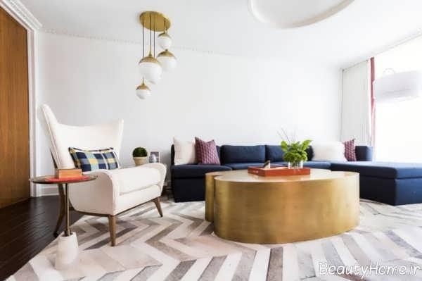 مدل فرش سالن پذیرایی