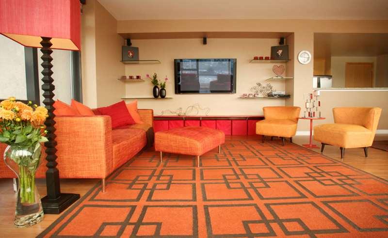 انواع مدل فرش با اشکال هندسی