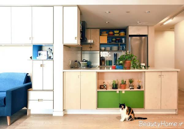 طراحی خانه ای کوچک و شیک
