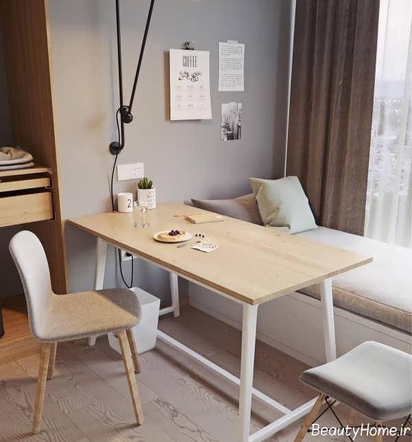 طراحی زیبا و کاربردی خانه کوچک اروپایی