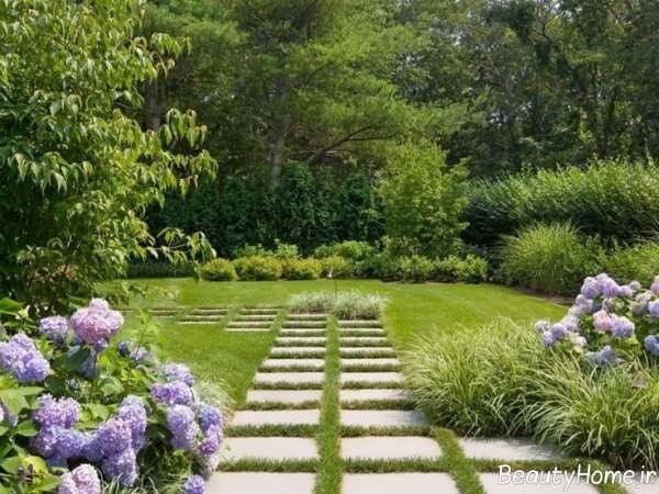 محوطه سازی باغ و ویلا