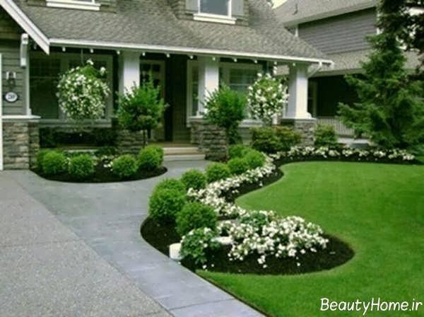 طراحی محوطه باغ