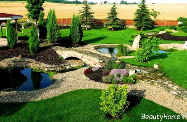طراحی محوطه باغ های زیبا