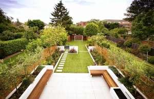 ایده هایی برای طراحی محوطه باغ