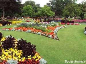 محوطه سازی شیک و زیبا باغ