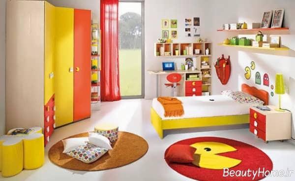 طراحی زیبا و شیک اتاق کودک