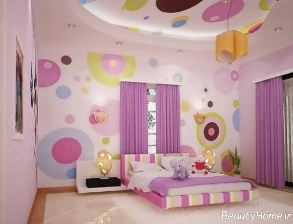 طراحی زیبا و کاربردی اتاق کودک