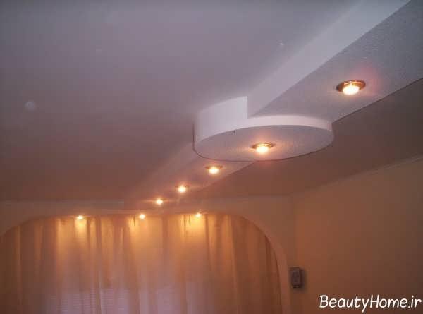 طرح جدید کناف سقف برای سالن پذیرایی