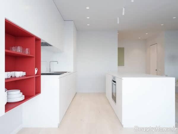 طراحی داخلی مدرن و شیک آشپزخانه