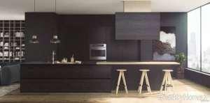 طراحی داخلی آشپزخانه مینیمال