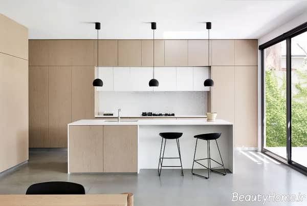طراحی داخلی آشپزخانه های مینیمال