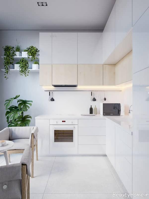 دکوراسیون داخلی آشپزخانه شیک و مدرن