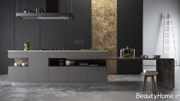 دکوراسیون زیبا و شیک آشپزخانه مینیمال