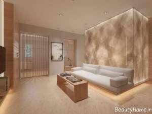 طراحی زیبا و کاربردی سالن پذیرایی