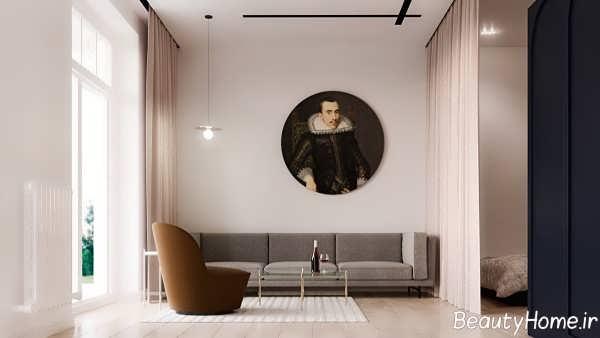 دیزاین داخلی سالن پذیرایی