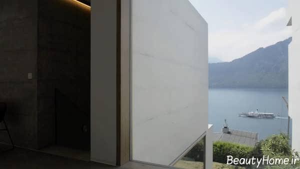 طراحی نمای برای ساختمان دوبلکس