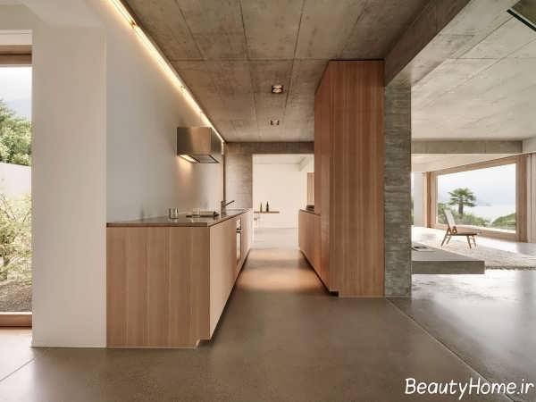 طراحی داخلی نمای شیک و زیبا دوبلکس