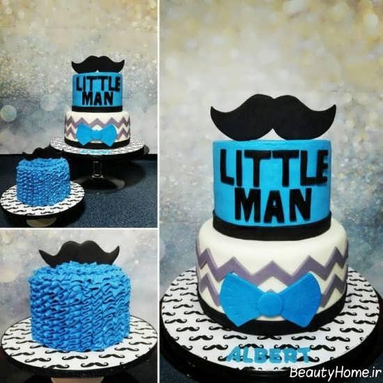 تزیین زیبا و خلاقانه کیک تولد